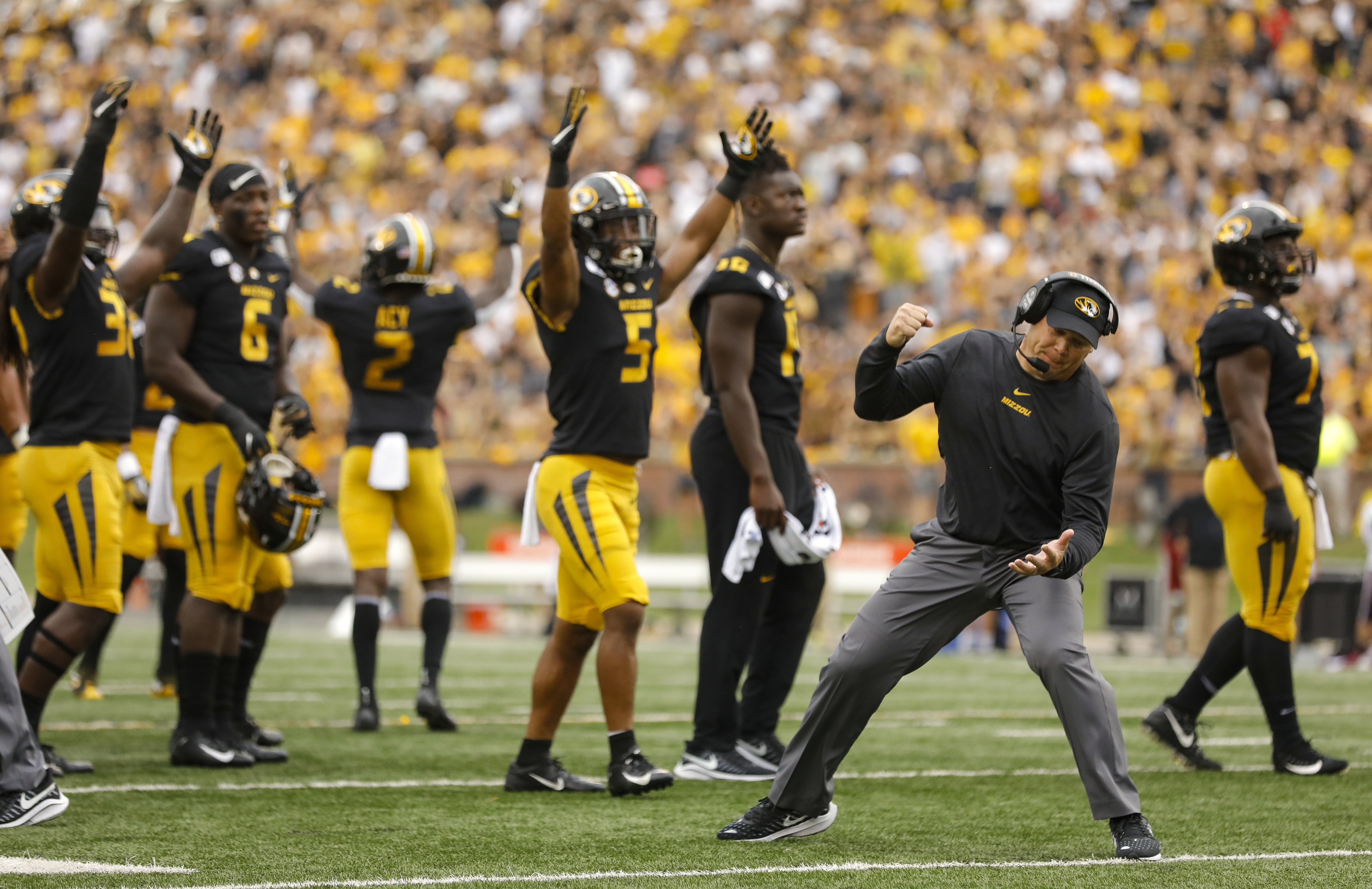 Mizzou Football Team Grades After Four Weeks